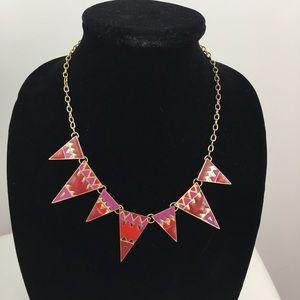 Triangle geometric statement necklace